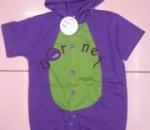 Barney romper costume